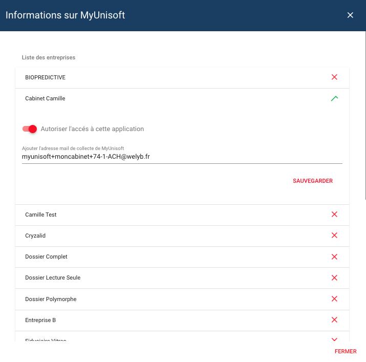 dossier achat myunisoft